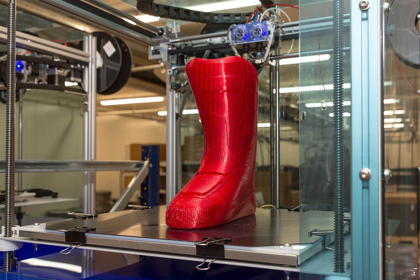 3D-gedruckte Skistiefel-Fütterung